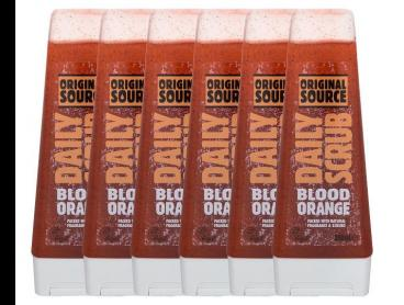 6 x Original Source Daily Scrub Blood Orange 250mL