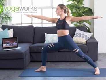 3- or 12- Month Subscription to Online Yoga from MyYogaWorks (Up to 84% Off)
