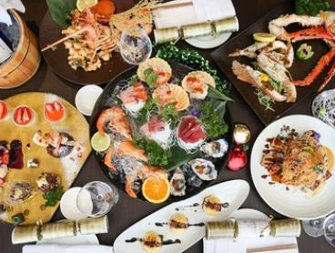 7-Course Christmas Seafood Banquet with Miyamizu Sake ($79) at Kobe Jones Sydney, Darling Harbour (Up to $165 Value)