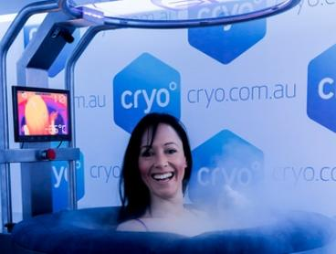 Whole Body Cryotherapy for Two People - One ($80), Three ($230) or Five Sessions ($375) Each at Cryo (Up to $810 Value)