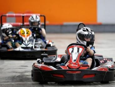 20- ($32) or 30-Minute Indoor Karting ($42) Session at 234 Fun Galore (Up to $58 Value)