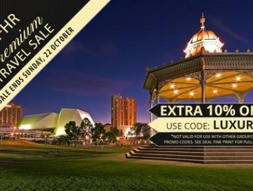 Adelaide: 1 or 2 Nights for Two with Breakfast and Late Check-Out at Sage Hotel Adelaide