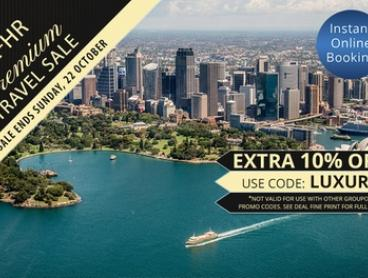 Manly: 1 or 2 Nights for 2 People with Breakfast, Wine and Late Check-Out at Q Station Sydney Harbour National Park