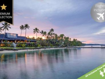 Fiji: 5 Night 5 * All Inclusive Getaway with Flights