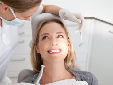 Dental Exam Package with Scale, Polish and X-Ray for One ($99) or Two People ($198) at Dream Smiles Dental