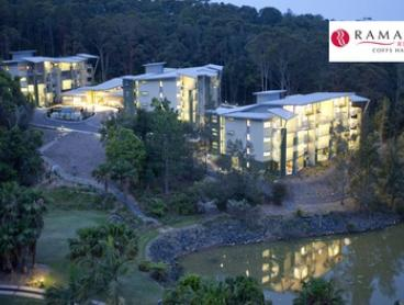 Coffs Harbour: 1 to 3 Nights for Four or Six People with Wine at Ramada Resort Coffs Harbour
