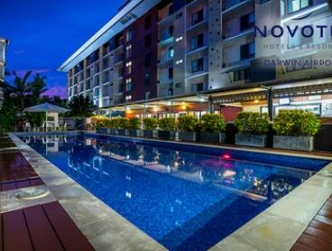 Darwin: One to Three Nights for Up To Four People with Late Checkout and Australian Wine at Novotel Darwin Airport Hotel