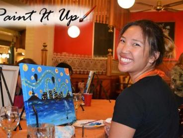 2-Hour Art Class with Paint It Up