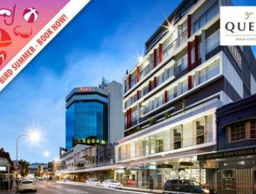 Bondi Summer Escape: 1- or 2-Night Beach Escape for Two People with Late Check-Out at Quest Bondi Junction