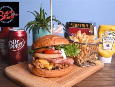 American-Style Burger, Fries & More