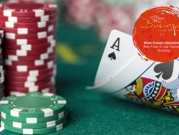 4-Hr Poker Cruise + Nibbles & Drinks: Full House ($99) or Ante Up ($149) with Afloat Cruises International (Up to $300)