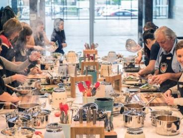 Choice of 3-Hour Hands-On Cooking Class for 1 ($99) or 4 People ($396) at VIVE Cooking School (Up to $640 Value)