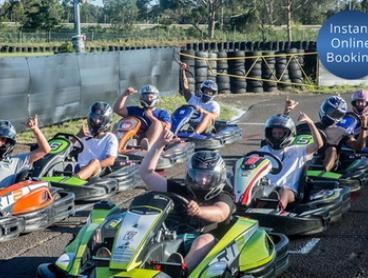 30-Minute Go-Kart Experience for 1 ($49), 2 ($96) or 4 People ($190) at Awesome Drive (Up to $280 Value)