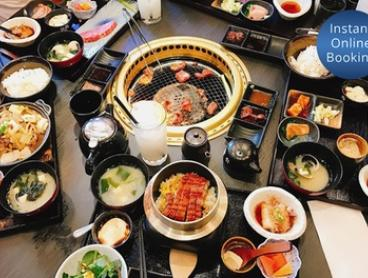 AYCE Japanese BBQ Buffet with Beer for 1 ($65) or 2 People ($129) at Kobe Wagyu BBQ (Up to $175 Value)