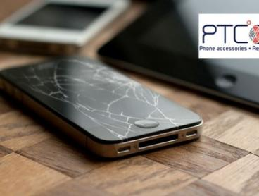Front Screen Replacement for iPhone (From $89) or iPad (From $100) at PTC Mobile Phone Accessories (From $120 Value)
