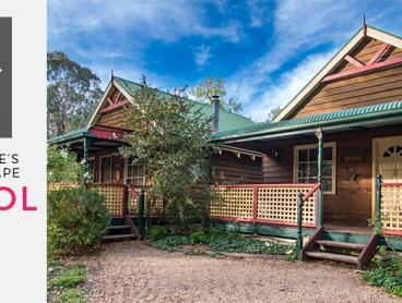 Romantic Couple's Hinterland Escape in Self-Contained Cottage with Port and Chocolates, Daily Breakfast, Bike Hire & More, from $269 for a Two-Night Stay (Valued Up To $560)