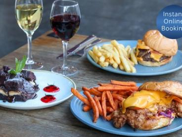 Two-Course Dinner with Glass of Wine for Two ($39) or Four People ($78) at Well Co. Cafe (Up to $133 Value)