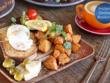 All-Day Breakfast with Coffee for One ($13), Two ($24) or Four People ($48) at Well Co. Cafe (Up to $86 Value)