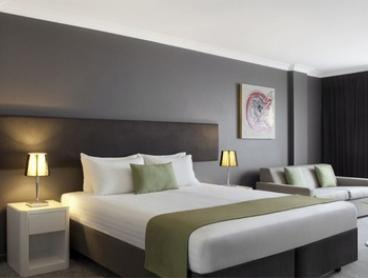 Perth, CBD: One- or Two-Night Getaway for Two People with Breakfast, Wine, and Wi-Fi at Rendezvous Hotel Perth Central