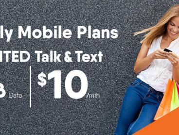 4G SIM Plan with Unlimited Talk and Text plus 1GB Data for Just $10 a Month!