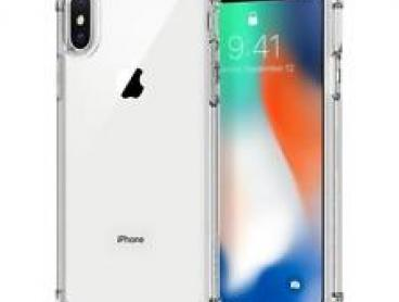 Spigen Crystal Shell Bumper Hard Cover for Apple iPhone X
