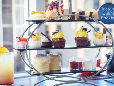 Midweek Chocolate High Tea with Cocktails for Two ($59) or Six ($177) at Crossroads Bar at Swissôtel Sydney (Up to $354)