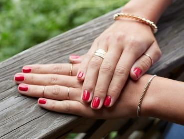 $34 for Full Set of SNS Nails or $55 for Gel Manicure and Pedicure at Js Pink Lady - Nails (Up to $98 Value)