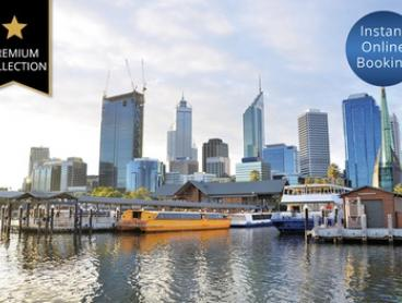 Perth, CBD: Stay with Breakfast, Parking, Wine, Late Check-Out at 5* Mystery Hotel