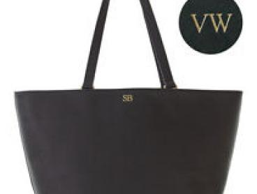 Personalised Leather Tote - Extra 20% off with code PREZZY. Ends 16/11. T&Cs*