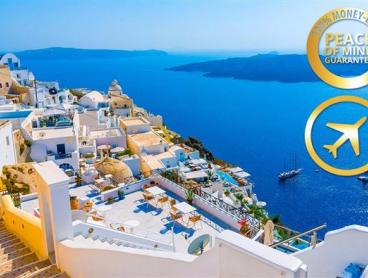 14 Day Greek Island Pkg & Flights