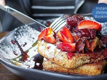 Breakfast with Coffee for Two ($28) or Four People ($56) at The North Spoon (Up to $106 Value)