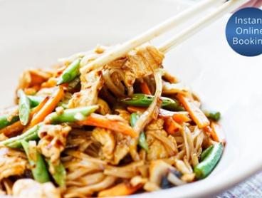 Two-Course Thai Meal + Drinks for Two ($35) or Four People ($69) at 3 Mama Chef's (Up to $114 Value)