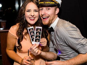 Photobooth Hire Packages with Unlimited Photo Strips, On-Site Attendant and More - $225 for a Three-Hour Package, $325 for a Four-Hour Package, or $425 for a Five-Hour Package (Valued Up To $900)