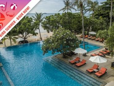 Thailand, Koh Samui: 5- or 7-Night Tropical Escape for Two with Breakfast and Welcome Drinks at New Star Beach Resort