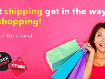 Thought You Couldn't Ship It Here? Now You Can! Save $20 When You Claim Your Free Shop & Ship Membership and Receive a Local Address in 24 Different Countries Around the World