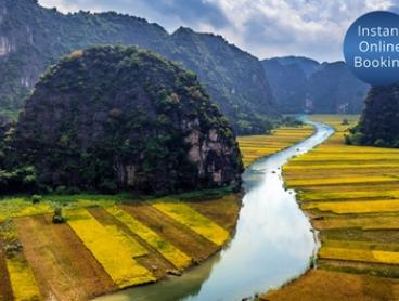 Vietnam: $45 Per Person for a One-Day Hoa Lu and Tam Coc Tour with Lunch with Halong Tours Booking