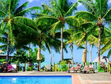 Samoa: Five- or Seven-Night Lagoon Stay for Two People with Breakfast and Airport Transfers at Le Vasa Resort