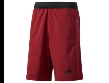 Adidas Men's D2M Shorts - Collegiate Burgundy