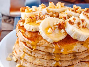 All-Day Breakfast Pancakes with a Coffee per Person - Just $24 for Two People, $47 for Four People or $70 for Six People. Open 24 Hours in the CBD! (Valued Up To $120)