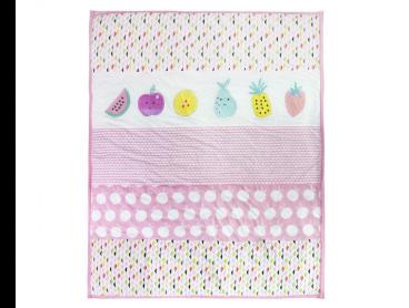 Little Cloud Berry Sweet Quilt - Pink/Multi