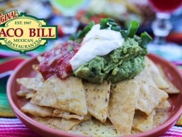 AYCE Tacos & Nachos + Wine or Jug of Sangria: Two ($39) or Four People ($78) at Taco Bill - Blackburn (Up to $186 Value)
