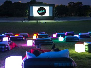 Entry to an Outdoor Cinema Experience in Moore Park, Just $10* for One Person (Value $15)