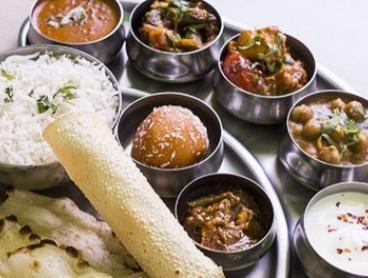 Indian Lunch with Drink for One ($12.90), Two ($25) or Four People ($49) at Taj Bhavan (Up to $75.60 Value)