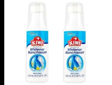 2 x Kiwi Sports Shoe Whitener 118mL