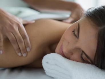 Pamper Package: 45 ($39) or 75 Minutes ($59) at Salute Beauty (Up to $110 Value)