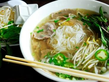Choice of Vietnamese Dish and Soft Drink or Water for 1 ($7) or 2 People ($14) at Hanoi Street Vendor (Up to $25 Value)