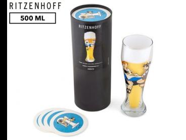 Ritzenhoff 500mL Eugen U. Fleckenstein Beer Glass - Multi