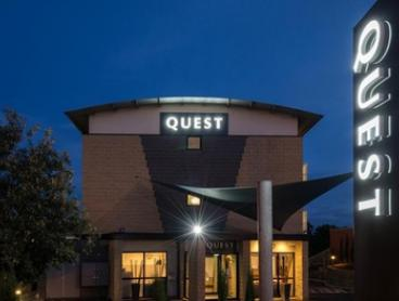 Frankston: 1-3 Nights for Two People with Wine and Late Check-Out at Quest Frankston