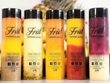 From $3.50 for Cold-Pressed Juice or From $5.50 for Marbled Juice at Früt Marbled Juicery (From $6.50 Value)