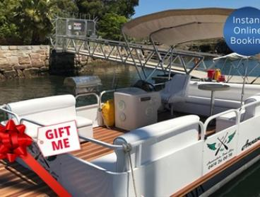 $279 for Pontoon Boat Hire for Up to Eight People with Annandale Boat Hire (Up to $429 Value)